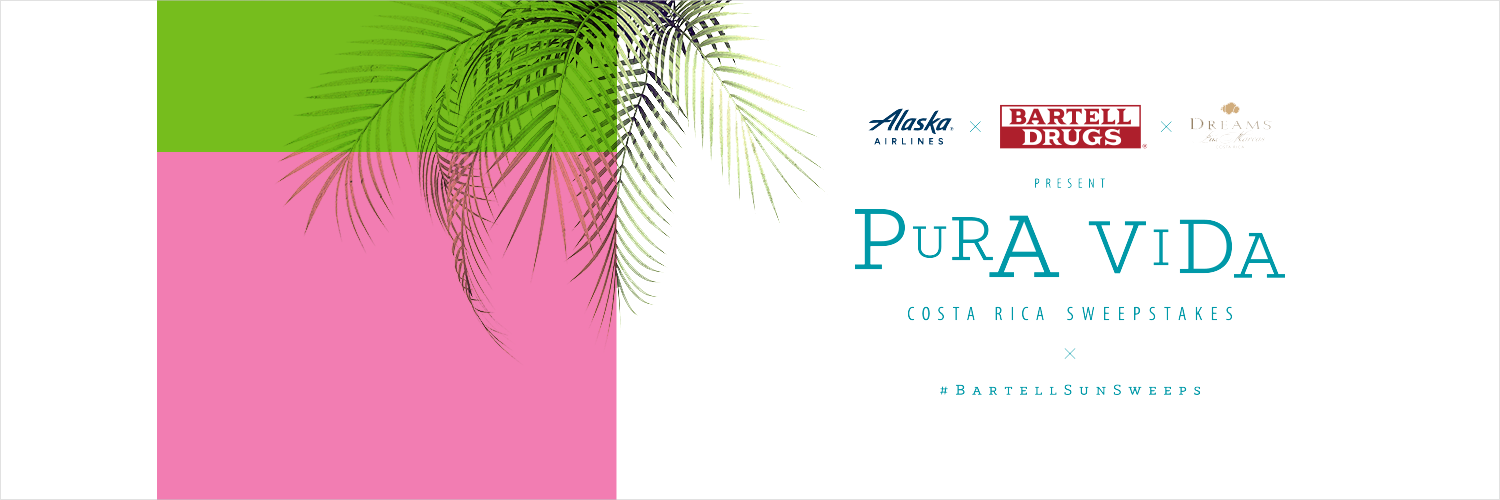 Pura Vida, Bartell Drugs, Alaska Airlines, Costa Rica, Social Media