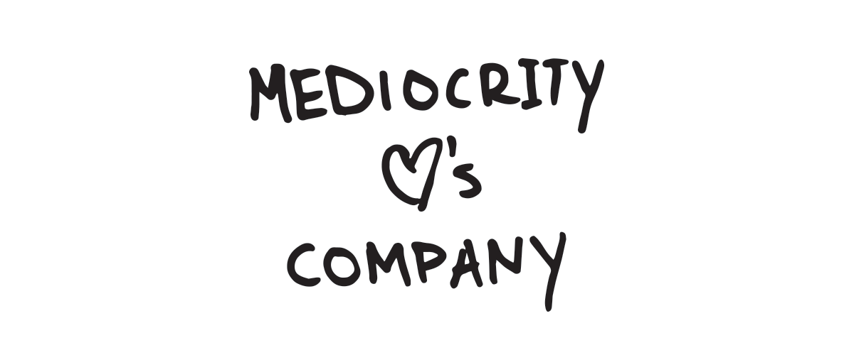 mediocrity, loves company, illustration, script chicago, danny maker